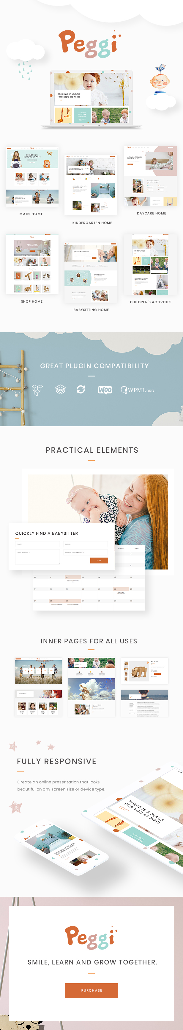 peggi - a multipurpose wordpress children theme (children) Peggi – A Multipurpose WordPress Children Theme (Children) 01